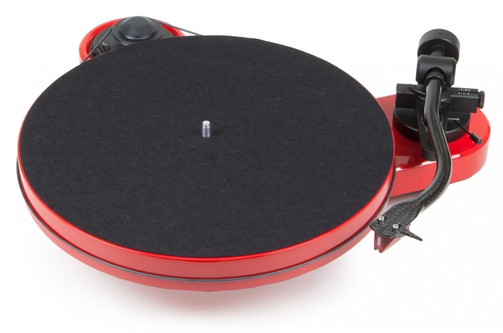 Pro-ject RPM1 rosso + cover