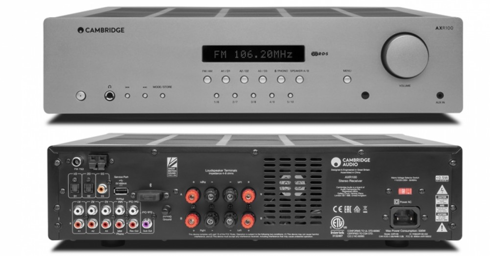 Cambridge Audio AX R 100 D
