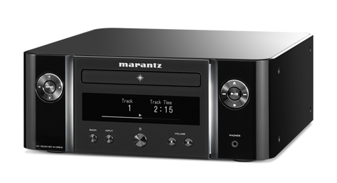 Marantz M-CR612 nero + System Audio Saxo 1 nero
